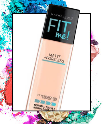 Maybelline Fit Me Matte + Poreless Foundation, $7.99