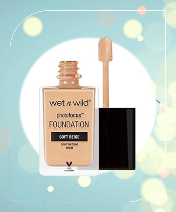 Wet n Wild Photo Focus Foundation, $5.99