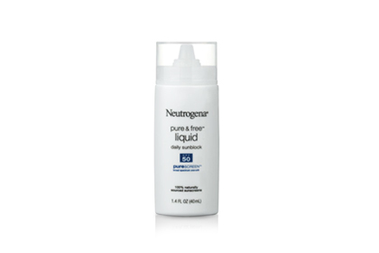 No. 9: Neutrogena Pure & Free Liquid Daily Sunblock SPF 50, $12.49