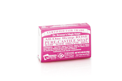 Soap: Dr. Bronner's Classic Bar Soap, $4.49