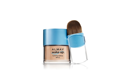 Foundation: Almay Wake-Up Hydrating Makeup SPF 13, $12.99