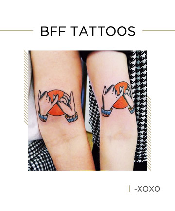 33 Best Friend Tattoos - Matching Tattoo Ideas for Your BFF