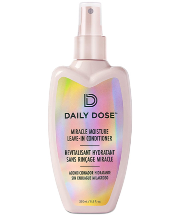 Leave-in Conditioner: Daily Dose Miracle Moisture Spray Leave-In Conditioner Detangler, $17.99