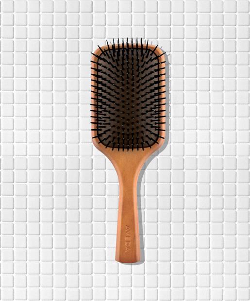 No. 7: Aveda Wooden Paddle Brush, $20