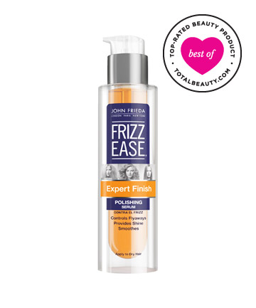 Best Hair Care Product Under $10 No. 7: John Frieda Frizz-Ease Thermal Protection Serum, $9.99