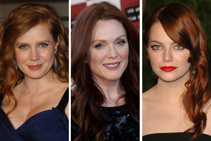 Celebs with the best red hair: