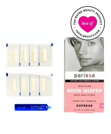 Best Hair Removal Product No. 1: Parissa Wax Strips Mini Eyebrow Design, $10