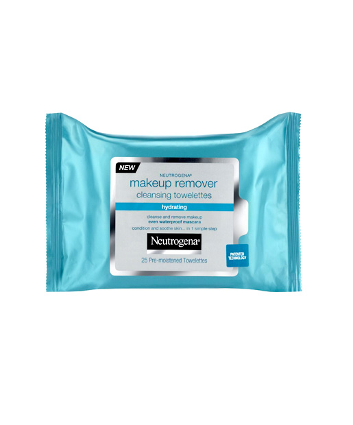 No. 13: Neutrogena Makeup Remover Cleansing Towelettes -- Hydrating, $6.99
