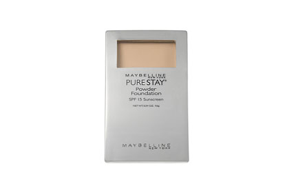 No. 8:  Maybelline New York Pure Stay Powder Foundation, $8.32