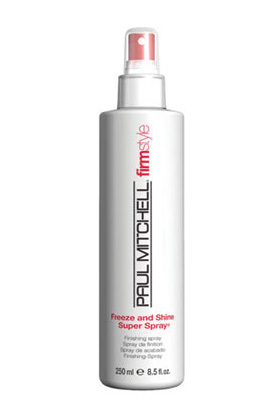 No 9 Paul Mitchell Freeze and Shine Super Spray 16 99 14 Best Luxury Beauty Products from totalbeauty.com