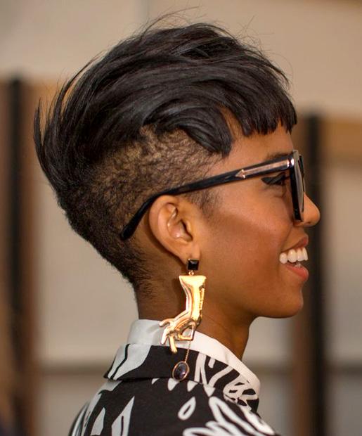 Surprising 17 Best Short Hairstyles For African American Women Hairstyles For Men Maxibearus