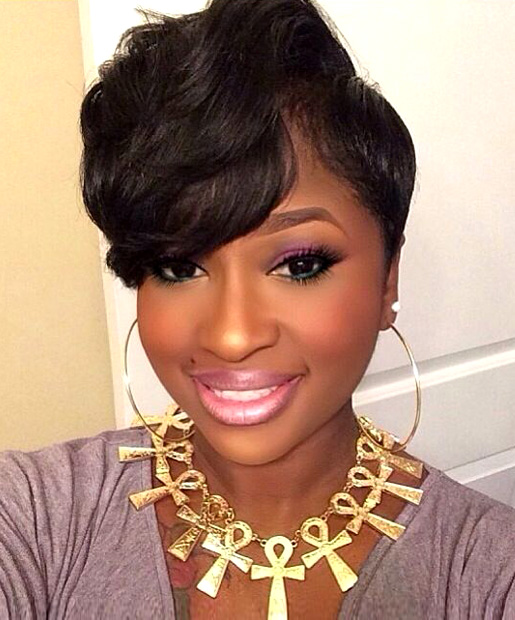 Stupendous 17 Best Short Hairstyles For African American Women Hairstyle Inspiration Daily Dogsangcom