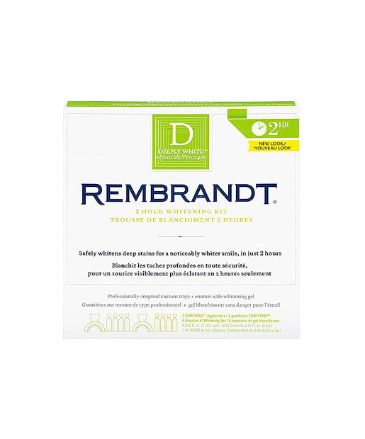 The Worst Teeth Whitening Product No. 4: Rembrandt Deeply White 2 Hour Whitening Kit, $22.99