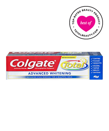 Best Toothpaste No. 7: Colgate Total Advanced Whitening Toothpaste, $4.99