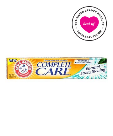 Best Toothpaste No. 6: Arm & Hammer Complete Care Enamel Strengthening Fluoride Anti-Cavity Toothpaste, $3.99