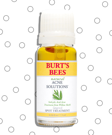 Worst No. 1: Burt's Bee Natural Acne Solutions Targeted Spot Treatment, $10