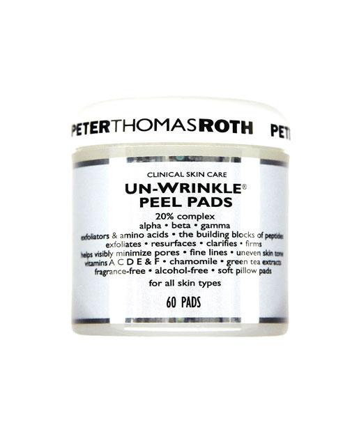 Best No. 2: Peter Thomas Roth Un-Wrinkle Peel Pads, $45