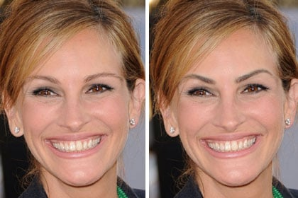 Who should try them: Julia Roberts