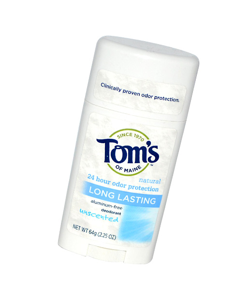 The Worst No. 3: Tom's of Maine Natural Long-Lasting Deodorant Stick, $4.99