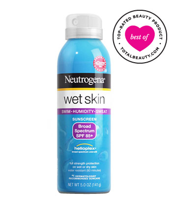 The Best: No. 1: Neutrogena Wet Skin Sunblock Spray, $9.49