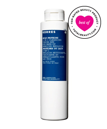 No. 6: Korres Natural Products Milk Proteins 3 in 1 Cleansing Emulsion, $21
