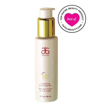Best Face Cleanser No. 15: Arbonne RE9 Advanced Smoothing Facial Cleanser, $40