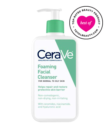 No. 17: CeraVe Foaming Facial Cleanser, $11.47