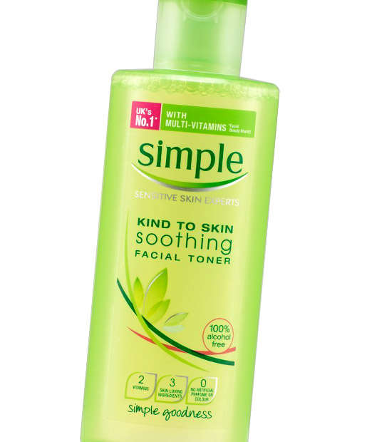 No. 7: Simple Soothing Facial Toner, $5.97