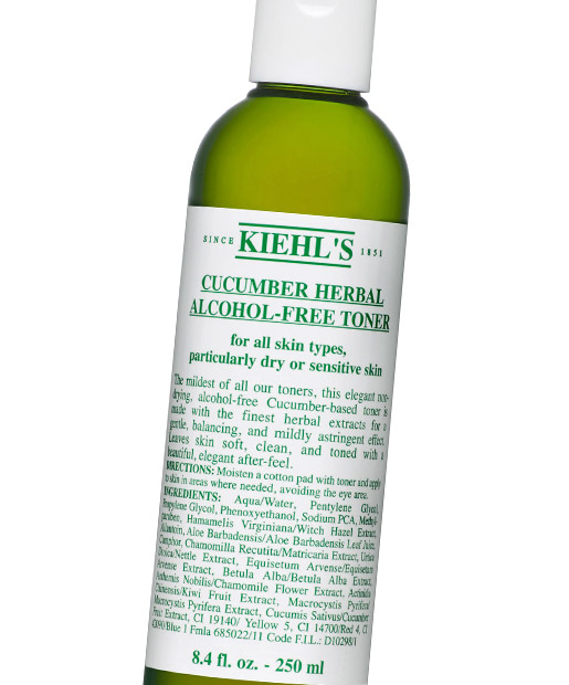 No. 20: Kiehl's Cucumber Herbal Alcohol-Free Toner, $16