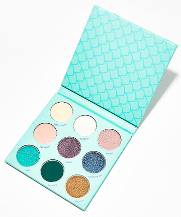 winky lux mermaid kitten palette 25 go blue with these