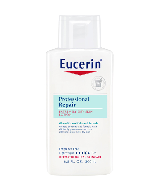 No. 3: Eucerin Professional Repair Extremely Dry Skin Lotion, $7.99