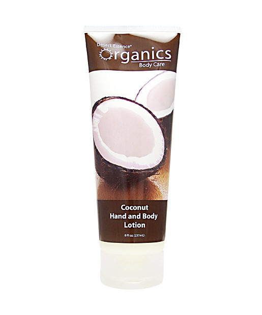 No. 7: Desert Essence Organics Coconut Hand and Body Lotion, $8.99