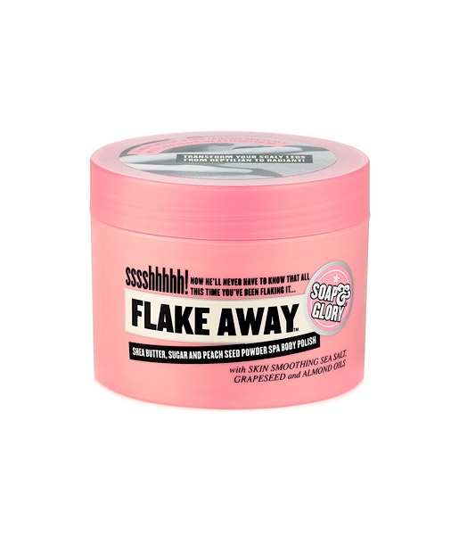 No. 13: Soap and Glory Flake Away Body Scrub, $20