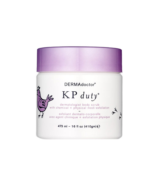 No. 3: DERMAdoctor KP Duty Dermatologist Body Scrub with Chemical + Physical Medical Exfoliation, $46