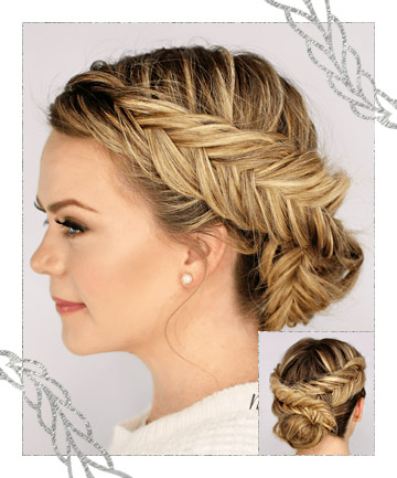 Surprising Knotty Braided Updo 11 Prettiest Braided Updos To Try Now Page 6 Natural Hairstyles Runnerswayorg