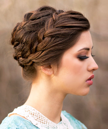 Braided Updos Tutorials For Easy Braid Hairstyles