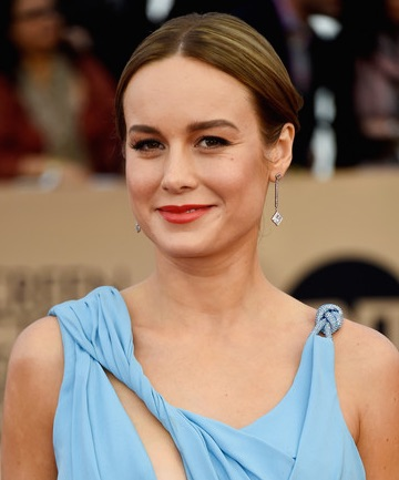 Look of the Day: Brie Larson's Poppy Lip Color
