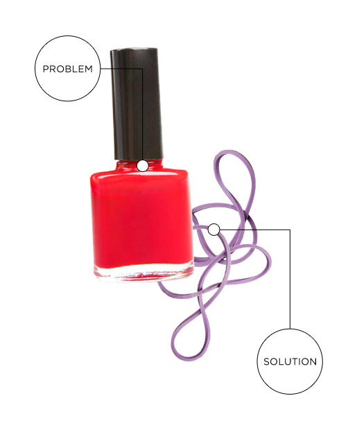 Your Nail Polish Bottle Will. Not. Open.