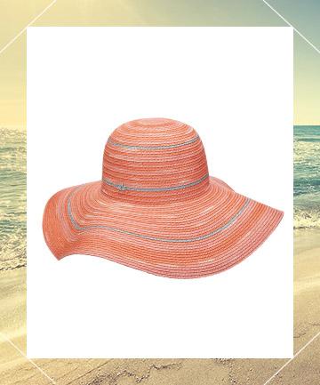 425b66256 Cappelli Straworld Toyo Big Brim Floppy Women's Hat in Coral, $30, 8 ...