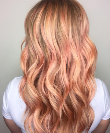 Caramel Rose Hair Color Is The Spring Look You Ve Been Craving