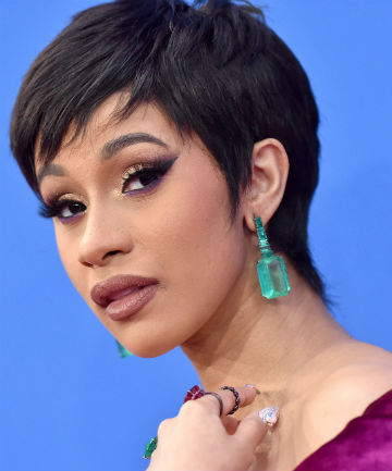 Look of the Day: Cardi B's High-Key Glam
