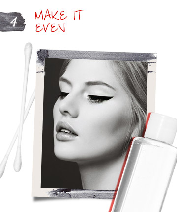 Ensure Perfectly Even Cat Eye Makeup