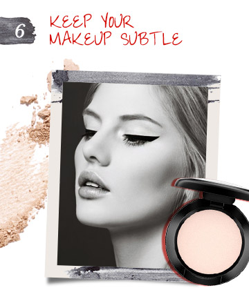 Keep Makeup Subtle When Wearing Cat Eye Makeup