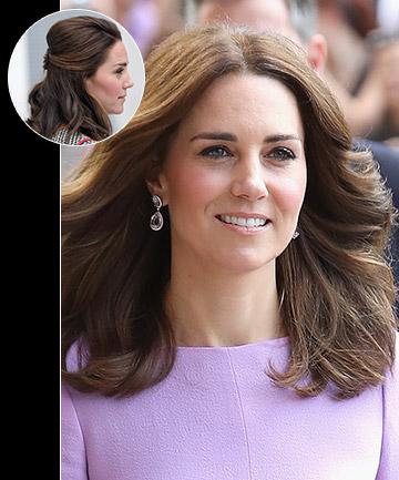 Kate Middleton's Shoulder Length Chop