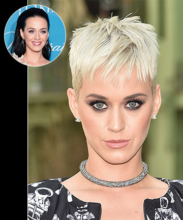 Katy Perry's Ultra-Short Ultra-Blonde 'Do