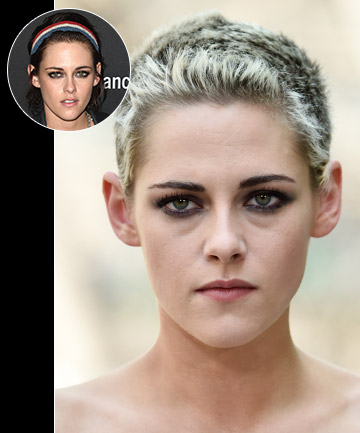 Kristen Stewart's Chic Platinum Buzz Cut