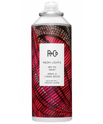 R+Co Neon Lights Dry Oil Spray, $29