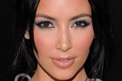 Kim Kardashian, Best Celebrity Makeup Looks for Brown Eyes