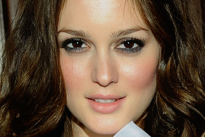 on Leighton Meester  Best Celebrity Makeup Looks For Brown Eyes