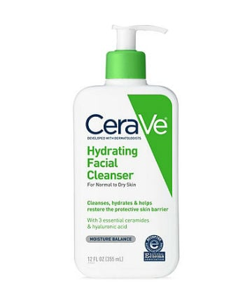 Best Face Cleanser No. 16: CeraVe Hydrating Facial Cleanser, $14.99